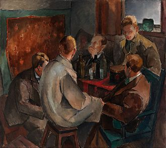 November Group (German) - Alvar Cawén, Members of the November Group (1921) currentlocation: EMMA – Espoo Museum of Modern Art
