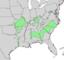 Celtis tenuifolia range map 4.png