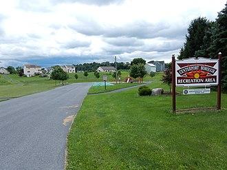Centerport, Pennsylvania - Image: Centerport Borough Recreation Area, Berks Co PA