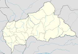 Bangui is located in Central African Republic