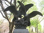 Central Park NYC - Eagles and Prey Sculpture by Christophe Fratin - IMG 5715.JPG