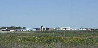 Central Wisconsin Airport - Panoramic view of facilities