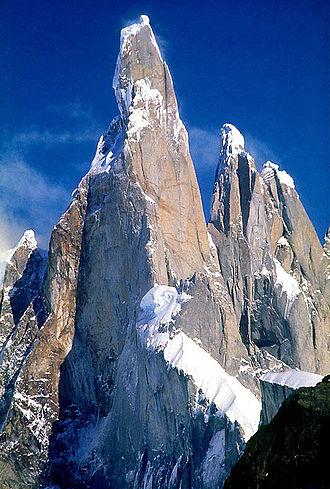 Cerro Torre - Cerro Torre in 1987