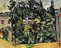 Château des environs de Paris, par Paul Cézanne, Yorck.jpg