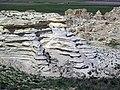 Chalk badlands (Niobrara Formation, Upper Cretaceous; chalk bluffs south of Castle Rock, Gove County, Kansas, USA) 74 (38295883355).jpg