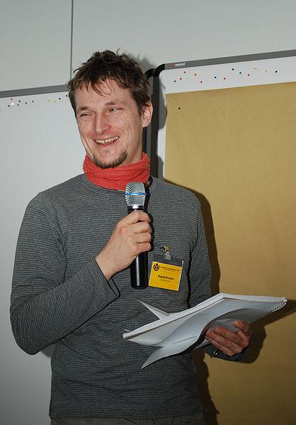 Daniel Kinzler, Chefentwickler Wikimedia Deutschland