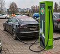 Charging station in Minsk, Belarus (2019).jpg