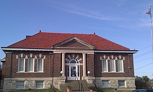 National Register of Historic Places listings in Lucas County, Iowa - Image: Chariton Free Public Library 2012 09 27 19 31 24