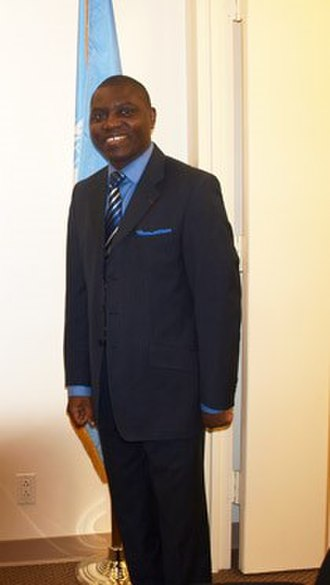 Minister of Foreign Affairs (Central African Republic) - Image: Charles Armel Doubane