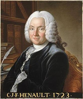Charles-Jean-François Hénault - Image: Charles Jean François Hénault Versailles MV 2970