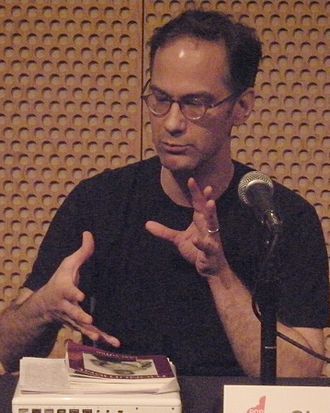 "Charles Aaron - Aaron on the panel ""He Pop/She Pop"", 2008 Pop Conference, Experience Music Project, Seattle, Washington"