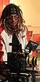 Charles M Robinson with RedCam Scarlet - Nashville TN Indoor.jpg