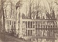 Charles Marville, The Naumachia, Parc Monceau, Paris, 1861 - 1871.jpg