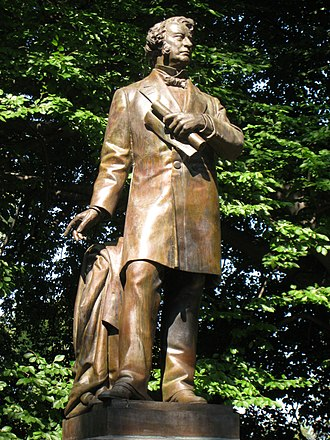 Thomas Ball (artist) - Charles Sumner (1878), The Public Garden, Boston, Massachusetts.