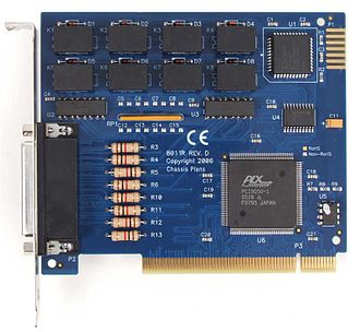 Expansion card - Example of a PCI digital I/O expansion card
