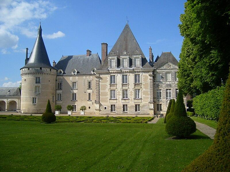 File:Chateau d'Azay-le-Ferron Facade.JPG