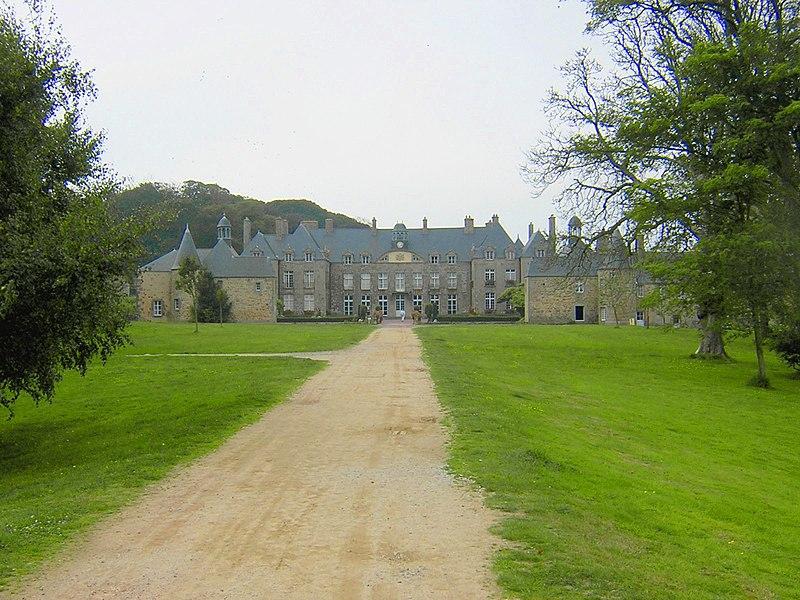Château de Flamanville, Manche, France