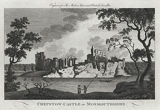Chepstow Castle in Monmouthshire