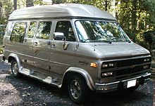 Converted 1988 1996 Chevrolet Sport Van Conversion