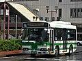 Chiba Nairiku Bus 1128 at Yotsukaido Station.jpg