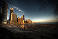 Chicago across from Lake Michigan.jpg