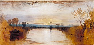 Year Without a Summer - Chichester Canal by J. M. W. Turner (1828)