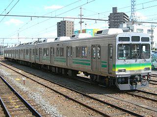 Chichibu Railway 7500 series Class of 7 Japanese 3-car electric multiple units