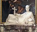 Chiesa abbaziale di s. michele a passignano, int., cappella di s.g. gualberto, santo giacente di gb caccini, 1580, 02.JPG