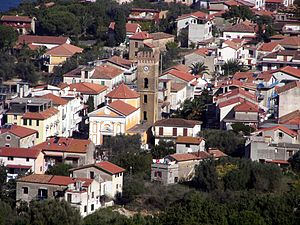 San Marco (Castellabate) - Village centre with the church of St. Mark