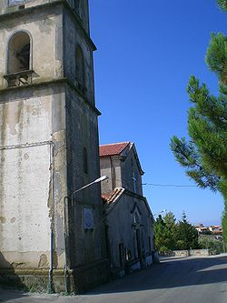 St. Maurus church in Casalsottano