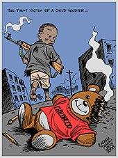 Afbeeldingsresultaat voor US is using child soldiers