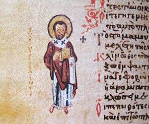 John Chrysostom ad marginem of Chludov Psalter