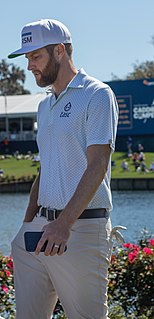 Chris Kirk American professional golfer