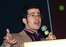 Chris Pirillo at Gnomedex 2005