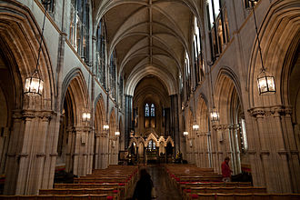 Interior of Christ Church Cathedral Christ Church 001.jpg