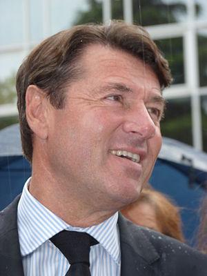 Christian Estrosi, mayor of Nice, in 2011. Fra...