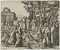 Christus vertelt de parabel van de zaaier, RP-P-1939-1038.jpg