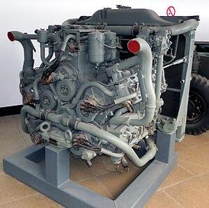 Chrysler A57 multibank - Image: Chrysler multibank