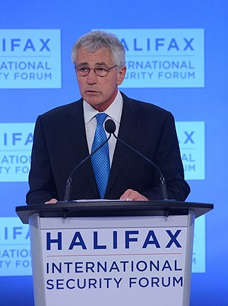 Halifax International Security Forum - US-Secretary of Defense Chuck Hagel at HISF 2013