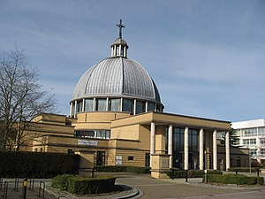 Church of Christ the Cornerstone - Image: Church of Christ the Cornerstone, Milton Keynes geograph.org.uk 1770472