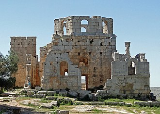 Church of Saint Simeon Stylites - Image: Church of Saint Simeon Stylites 22 Baptistry