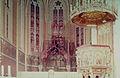Church of St. Ludmila - altar under reconstruction.jpg