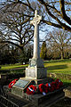 Church of St Mary Theydon Bois Essex England - War memorial.jpg
