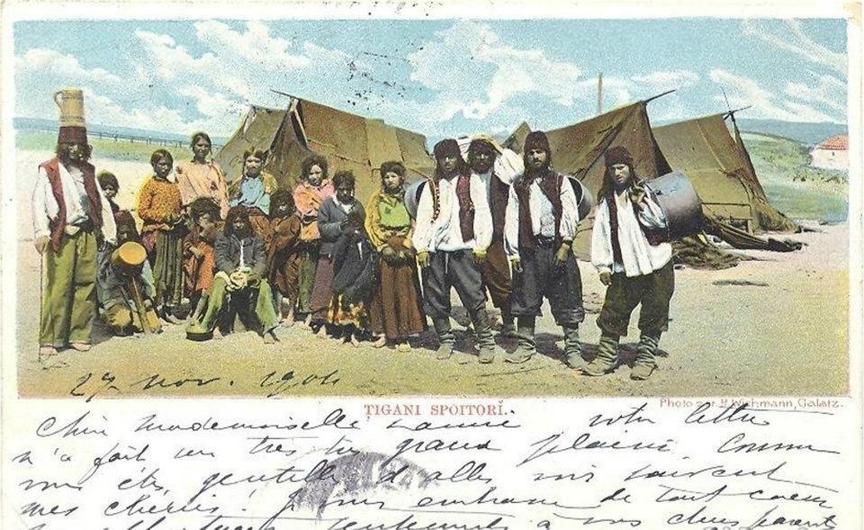 Cigánsky tábor v Rumunsku