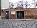 Cimitero ebraico di Piazzale Soccorso, cancello entrata (Rovigo).jpg