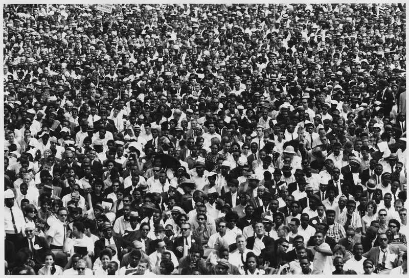 File:Civil Rights March on Washington, D.C. (A crowd of marchers.) - NARA - 542042.tif