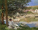 Claude Monet - On the Bank of the Seine, Bennecourt - 1922.427 - Art Institute of Chicago.jpg