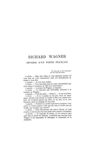 File:Claudel - Richard Wagner, 1934, La Revue de Paris.djvu