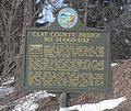 Clay County bridge 14-060-032 historical marker 1.JPG