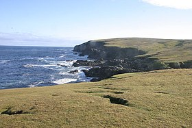 Cliffs NE coast of Foula - geograph.org.uk - 1089343.jpg